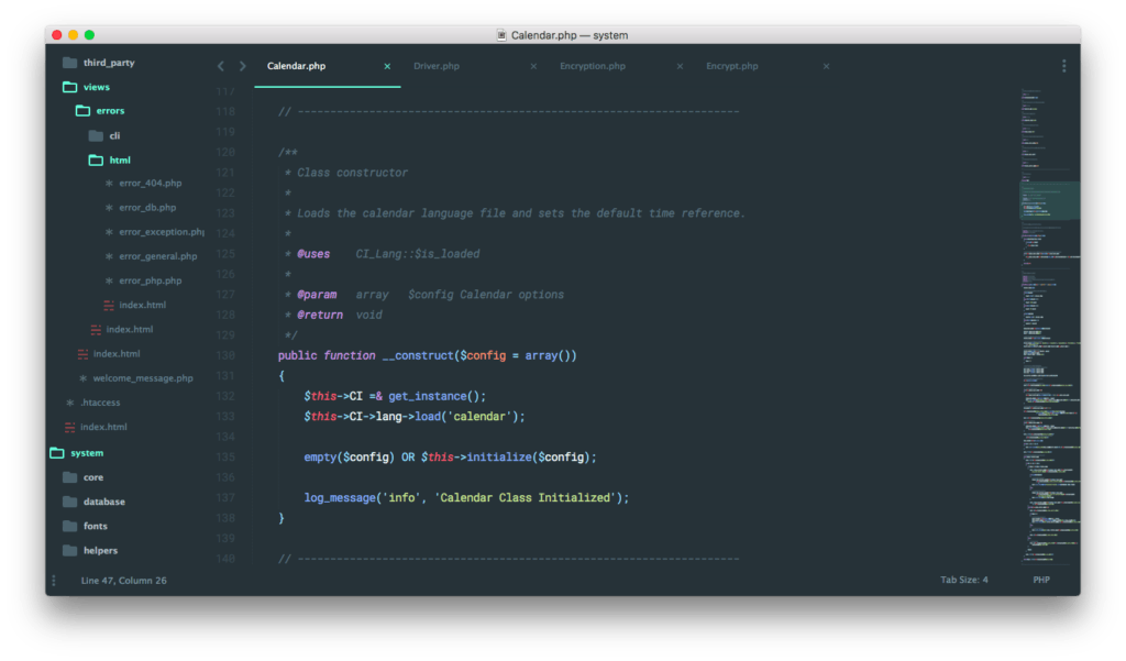 Sublime Text 3 DockBlockr