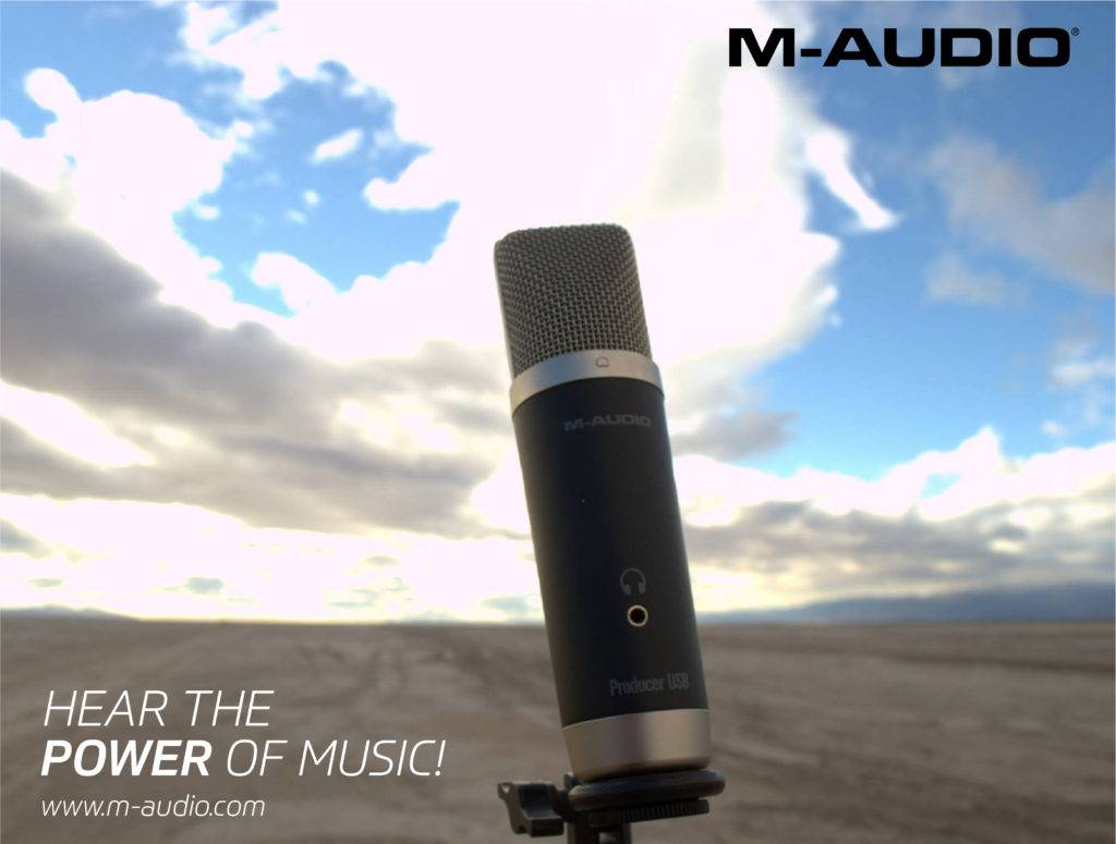 M-Audio: Hear the Power of Music