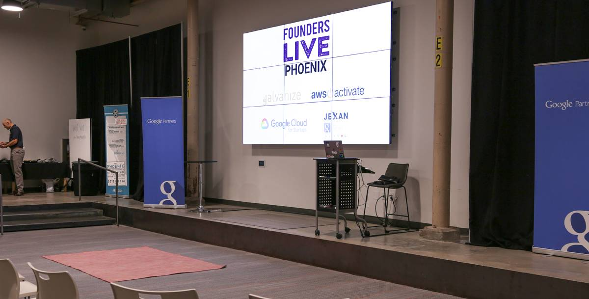 Founders Live Phoenix Stage